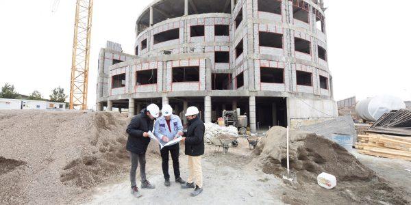 احداث ساختمان دانشکده دندانپزشکی