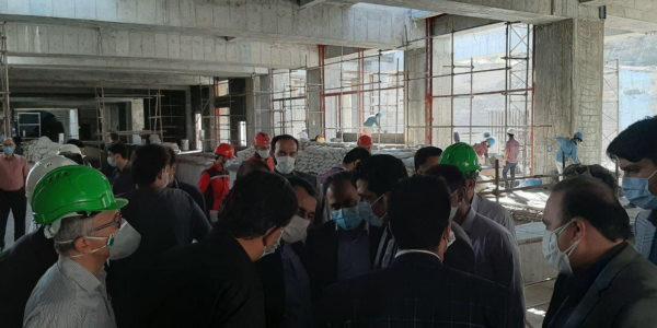 بازدید از پروژه های مترو مشهد